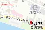Схема проезда до компании ПравоЗащитник в Астрахани