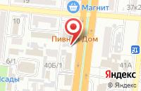 Схема проезда до компании Судовая автоматика в Астрахани