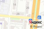 Схема проезда до компании Будь здоров в Астрахани