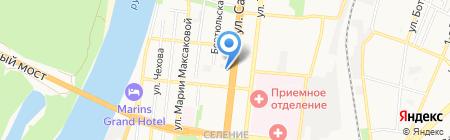 Belle-оптика на карте Астрахани