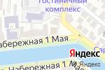 Схема проезда до компании Institut de Beaute в Астрахани
