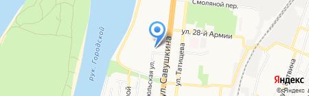 АСАИ на карте Астрахани