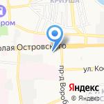 Испытательная пожарная лаборатория на карте Астрахани