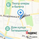 Астраханский социально-педагогический колледж на карте Астрахани