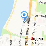 АДРЕНАЛИН на карте Астрахани