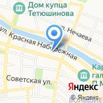 Еас на карте Астрахани