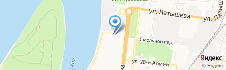 Капитал Групп на карте Астрахани