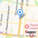 Миллениум на карте Астрахани