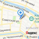 Военный комиссариат Астраханской области на карте Астрахани