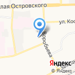 Smoky Light на карте Астрахани