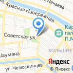 Часовня святителя Николая Чудотворца на карте Астрахани