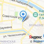 Административно-гостиничный комплекс Правительства Астраханской области на карте Астрахани