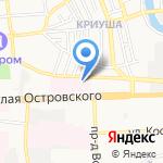 РемРада на карте Астрахани