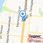 У Саши на карте Астрахани