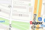 Схема проезда до компании Курош в Астрахани
