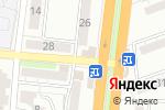 Схема проезда до компании ОМЕГА-тур в Астрахани