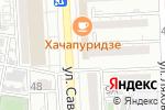 Схема проезда до компании Марго в Астрахани