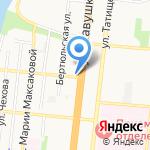 Аквасервис на карте Астрахани