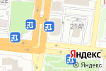 Схема проезда до компании Zажигалка в Астрахани