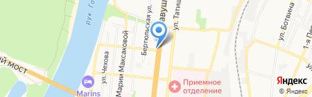 Информ ТВ на карте Астрахани