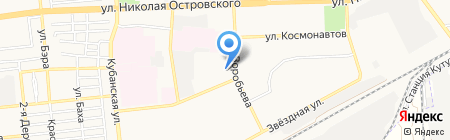 Банкомат Хоум Кредит энд Финанс Банк на карте Астрахани