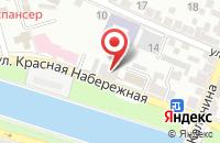 Схема проезда до компании Интерра в Астрахани