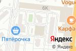 Схема проезда до компании Прогресс в Астрахани