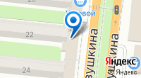 Компания Fonbet на карте