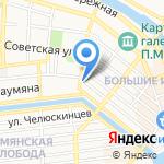 Каспийская гидротехническая компания на карте Астрахани