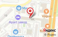 Схема проезда до компании PR+ в Астрахани