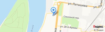 el TON на карте Астрахани