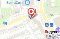 Схема проезда до компании Газпромбанк в Астрахани