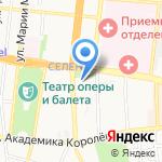 СТЭС на карте Астрахани