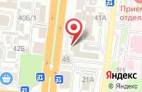 Схема проезда до компании ВАРИАНТ-СЛиП в Астрахани