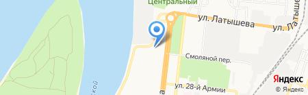 Банк юридических услуг на карте Астрахани
