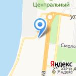 Тигруля на карте Астрахани