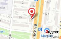 Схема проезда до компании DNS в Астрахани