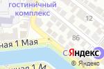 Схема проезда до компании Узбекистан в Астрахани