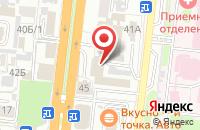 Схема проезда до компании Телесемь« В Астрахани» в Астрахани