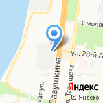 Магазин спортивных товаров для единоборств на карте Астрахани