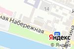Схема проезда до компании Техноком Групп в Астрахани