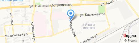 Планета цветов на карте Астрахани