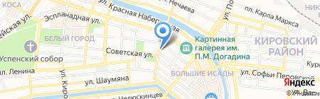 Центр развития социальной сферы на карте Астрахани