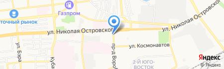 Специализированная пожарная спасательная часть ППС по АО на карте Астрахани