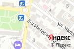 Схема проезда до компании Галерея N в Астрахани