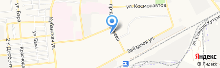 Ретро на карте Астрахани