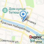 Астраханский визовый центр на карте Астрахани