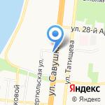 Даир-Строитель на карте Астрахани