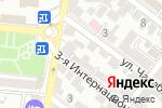 Схема проезда до компании Дизайн-студия Натальи Ивановой в Астрахани