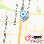 Астра-шар на карте Астрахани